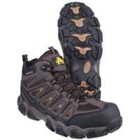 Amblers Safety AS801 Rockingham Waterproof Safety Footwear Brown
